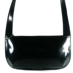 Furla Structured High Gloss Bag Made in Italy